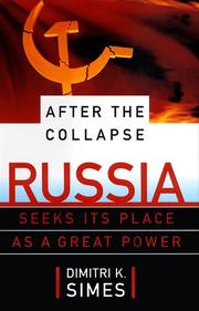 AFTER THE COLLAPSE by Dimitri K. Simes