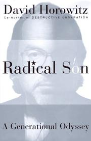 RADICAL SON by David Horowitz