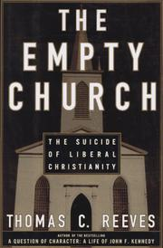 THE EMPTY CHURCH by Thomas C. Reeves