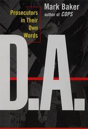 D.A. by Mark Baker