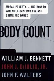 BODY COUNT by William J. Bennett