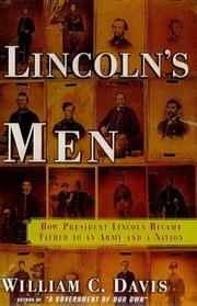 Cover art for LINCOLN'S MEN