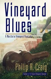 VINEYARD BLUES by Philip R. Craig