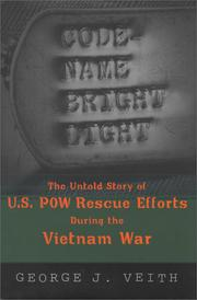 CODE-NAME BRIGHT LIGHT by George J. Veith