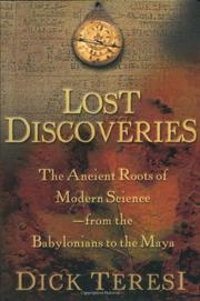 LOST DISCOVERIES by Dick Teresi