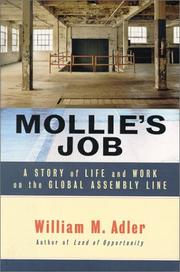 Cover art for MOLLIE'S JOB