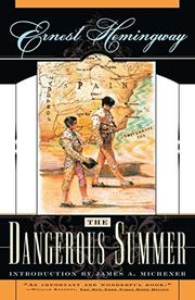 Cover art for THE DANGEROUS SUMMER