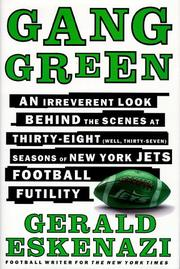GANG GREEN by Gerald Eskenazi