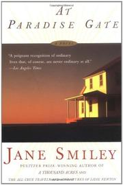 AT PARADISE GATE by Jane Smiley