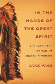IN THE HANDS OF THE GREAT SPIRIT by Jake Page