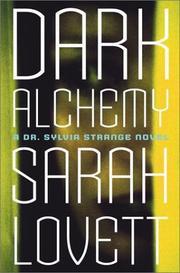 DARK ALCHEMY by Sarah Lovett