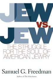 JEW VS. JEW by Samuel G. Freedman