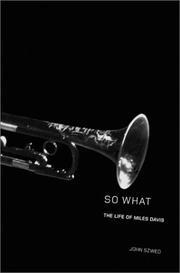 SO WHAT by John Szwed