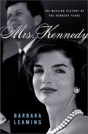 Cover art for MRS. KENNEDY