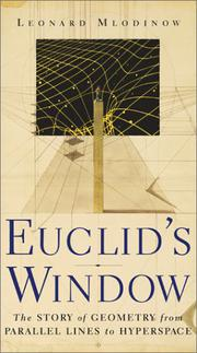 EUCLID'S WINDOW by Leonard Mlodinow