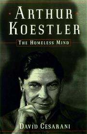 ARTHUR KOESTLER by David Cesarani
