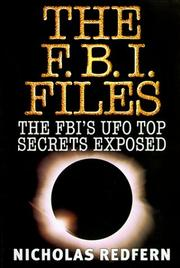 THE FBI FILES by Nicholas Redfern