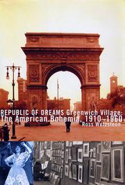 REPUBLIC OF DREAMS by Ross Wetzsteon