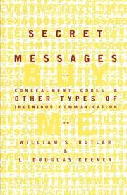 SECRET MESSAGES by William S. Butler