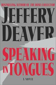 Cover art for SPEAKING IN TONGUES