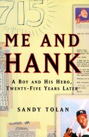 ME AND HANK by Sandy Tolan