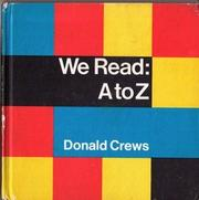 WE READ by Donald  Crews