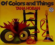 Book Cover for OF COLORS AND THINGS