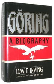 GÖRING by David Irving