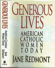 GENEROUS LIVES by Jane Redmont