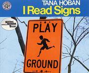 I READ SIGNS; I READ SYMBOLS by Tana Hoban