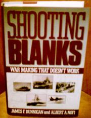 Cover art for SHOOTING BLANKS