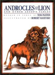 Cover art for ANDROCLES AND THE LION