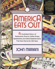 AMERICA EATS OUT by John Mariani