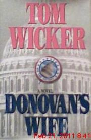 DONOVAN'S WIFE by Tom Wicker
