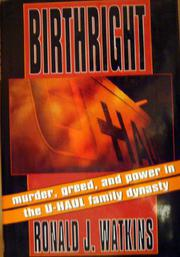 BIRTHRIGHT by Ronald J. Watkins