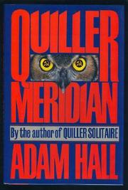 QUILLER MERIDIAN by Adam Hall