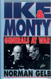 IKE AND MONTY by Norman Gelb