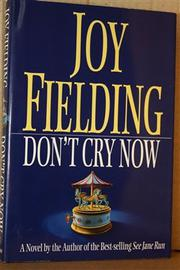 Book Cover for DON'T CRY NOW