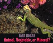ANIMAL, VEGETABLE, OR MINERAL? by Tana Hoban