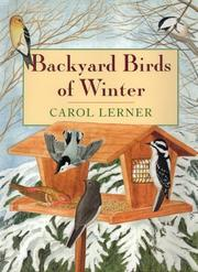 BACKYARD BIRDS OF WINTER by Carol Lerner