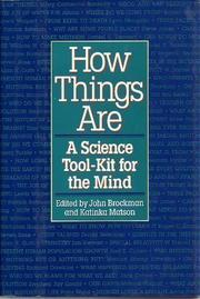 HOW THINGS ARE by John Brockman