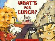 Cover art for WHAT'S FOR LUNCH?
