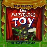 Cover art for THE MARVELOUS TOY