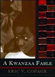 A KWANZAA FABLE by Eric V. Copage