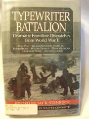 TYPEWRITER BATTALION by Jack Stenbuck