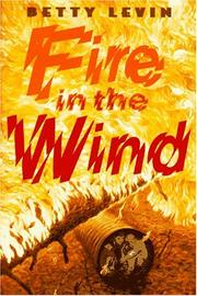 FIRE IN THE WIND by Betty Levin