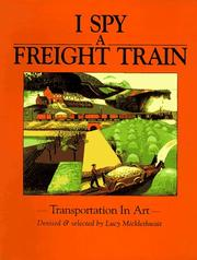 Cover art for I SPY A FREIGHT TRAIN