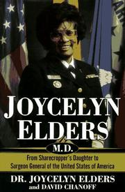 JOYCELYN ELDERS, M.D. by Joycelyn Elders