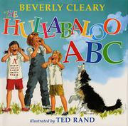 THE HULLABALOO ABC by Beverly Cleary