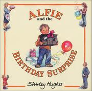 Cover art for ALFIE AND THE BIRTHDAY SURPRISE